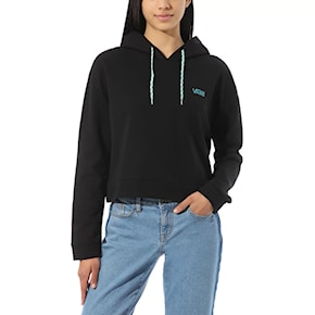 Mikina Vans Junior V FT Hoodie black/enamel blue 2020