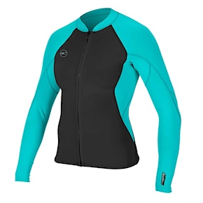 Neoprén O'Neill Wms Reactor II 1,5mm FZ Jacket black/light aqua 2020