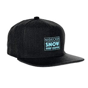Kšiltovka Nidecker Snow.surf Cap black 2020/2021