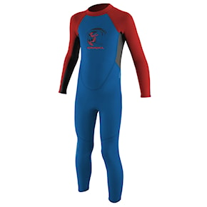 Neoprén O'Neill Toddler Reactor B. Ii 2Mm Bz Ful ocean/graphite/red 2021