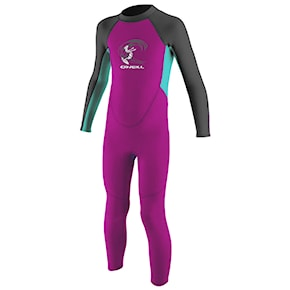 Neoprén O'Neill Toddler Reactor G. Ii 2Mm Bz Ful berry/light aqua/graphite 2021