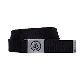 Pasek Volcom Circle Web black 2021