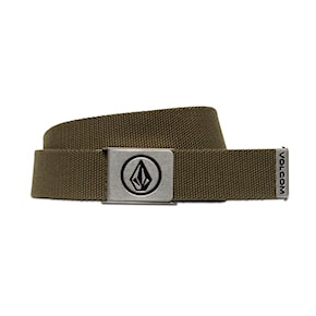 Pasek Volcom Circle Web military 2021
