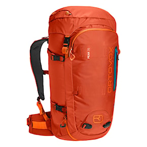 Ski touring backback Ortovox Peak 35 desert orange 2021