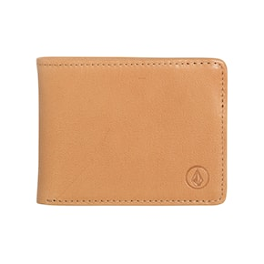 Wallet Volcom Strangler Leather natural 2019