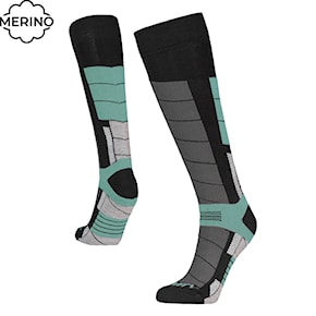 Podkolenky Gravity Nico black/light mint 2020/2021