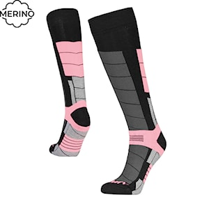 Snow socks Gravity Nico black/pink 2020/2021