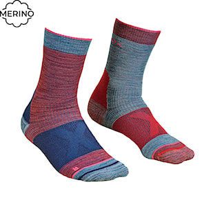Snow socks Ortovox Wms Alpinist Mid hot coral 2020/2021