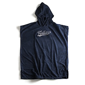 Pončo Follow Hooded Towelie Poncho navy 2021