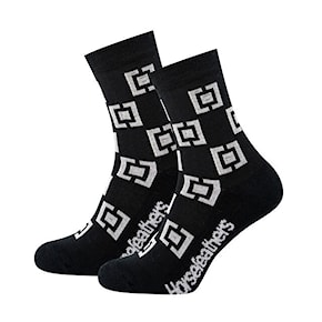 Socks Horsefeathers Dazed black 2020/2021