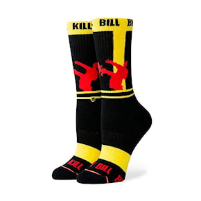 Socks Stance KB Silhouettes yellow 2019