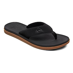 Japonki Quiksilver Haleiwa Plus black/black/brown 2021
