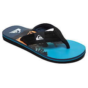 Žabky Quiksilver Molokai Layback Youth black/blue/blue 2020