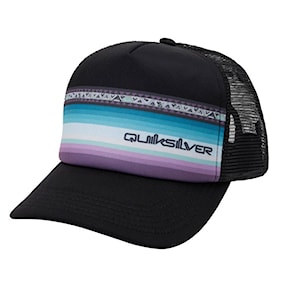 Kšiltovka Quiksilver Sun Faded Trucker Youth black 2021