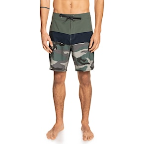 Boardshorts Quiksilver Surfsilk Panel 18 thyme 2021