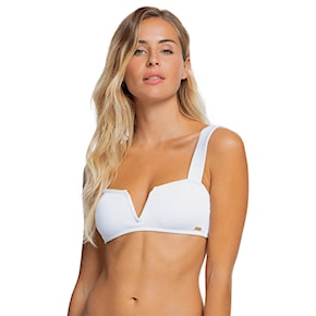 Strój kąpielowy Roxy Mind Of Freedom Bra bright white 2021