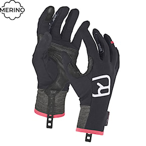 Gloves Ortovox Wms Tour Light black raven 2020/2021