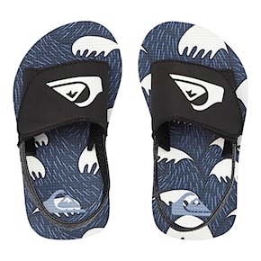 Sandaly Quiksilver Molokai Layback Slide Toddler black/blue/white 2021