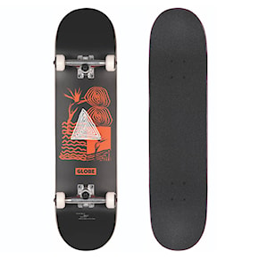 Skateboard Globe G1 Fairweather black/red 2021