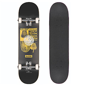Skateboard Globe G1 Fairweather black/yellow 2021