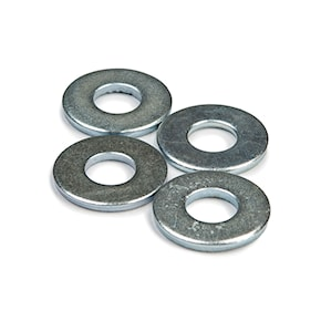 "Screws, nuts and washers Khiro Flat Washers 7/8"" chrome"