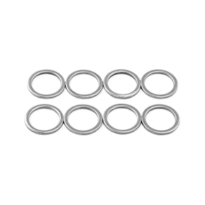 Screws, nuts and washers Khiro Speed Rings chrome