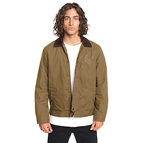 Street kurtka Quiksilver Canvas Cord Collar dull gold 2020
