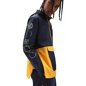 Street bunda Vans Frequency Anorak dress blues/saffron 2021