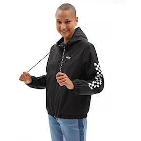 Street bunda Vans Kastle Classic Windbreaker black 2021