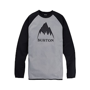 Tech Hoodie Burton Crown Wpf Crew grey heather/true black 2020/2021