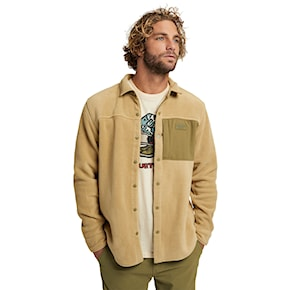 Tech Hoodie Burton Hearth Fleece Shirt kelp 2020/2021