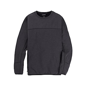 Tech Hoodie Burton Minturn Crew true black heather 2020/2021
