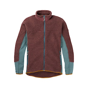 Tech Hoodie Burton Wms Minturn Fz rose brown heather 2020/2021