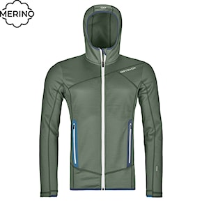 Bluza Ortovox Fleece Hoody green forest 2020/2021