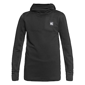 Technická mikina Quiksilver Steep Point Hood Youth true black 2020/2021