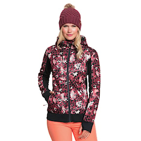 Tech Hoodie Roxy Frost Printed oxblood red leopold 2020/2021