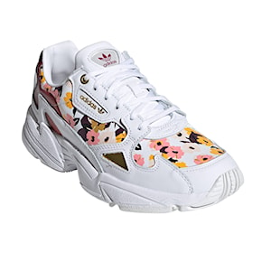 Tenisky Adidas Falcon cloud white/power berry/gld mtlc 2020