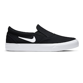 Tenisky Nike SB Charge Canvas Slip black/white-black 2020