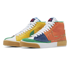 Tenisky Nike SB Zoom Blazer Mid Edge safety orange/lucky green 2021