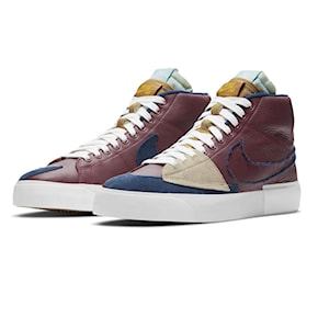 Tenisky Nike SB Zoom Blazer Mid Edge team red/navy-light dew-smmt wht 2021