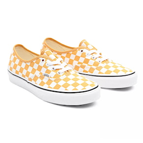 Tenisky Vans Authentic checkerboard golden nugget/trwht 2021