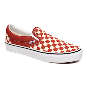 Tenisky Vans Classic Slip-On checkerboard picante/true white 2020