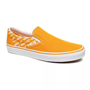 Tenisky Vans Classic Slip-On logo repeat cadmium yellow/true 2020
