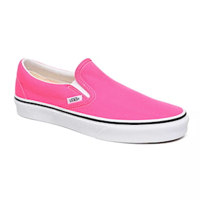 Tenisky Vans Classic Slip-On neon knockout pink true/white 2020