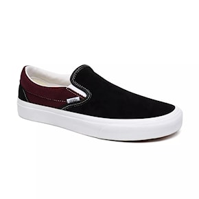 Tenisky Vans Classic Slip-On p&c black/port royale 2020