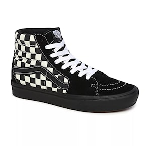 Tenisky Vans Comfycush Sk8-Hi mixed media antique white/black 2020