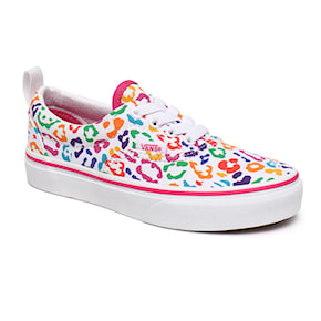 Sneakers Vans Era Junior Elastic Lace rainbow leopard fuchsia purple 2020