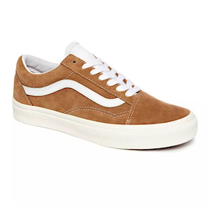 Tenisky Vans Old Skool pig suede brown sugar/snow white 2020