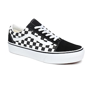 Tenisky Vans Old Skool Platform checkerboard black/true white 2021