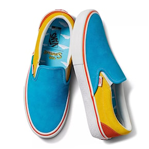 Tenisky Vans Slip-On Pro The Simpsons black/yellow 2020
